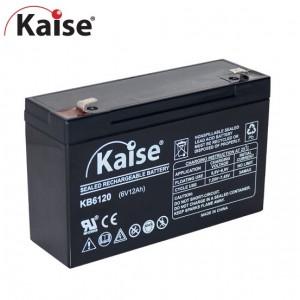 Bateria 6V 12Ah (term. F1) Kaise AGM standard
