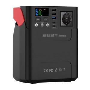 Bateria portátil de lítio 222Wh, output AC 100-240V e DC 5-12V