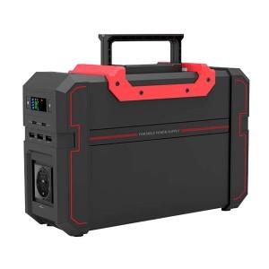 Bateria portátil de lítio 444Wh, output AC 100-240V e DC 5-12V