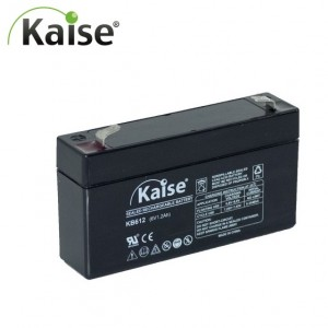 Bateria 6v 1,2Ah (term. F1) Kaise AGM standard