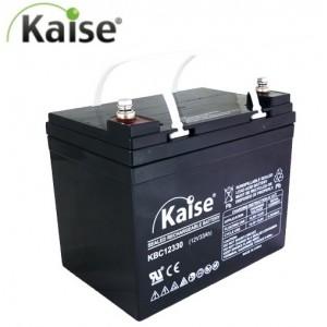 Bateria Deep-Cycle 12V 33Ah (C10) 35,4Ah (C20) Kaise AGM