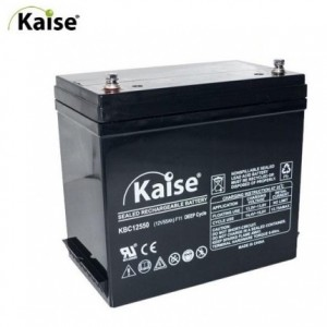 BAT. KAISE DEEP-CYCLE KBC12550 12V 55Ah