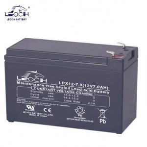 Bateria 12V 7,8Ah (term. F1) Leoch AGM Alta Descarga