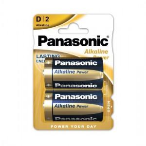 Pilha Alcalina Panasonic D, LR20, MN1300, AM1, Mono, Torcia
