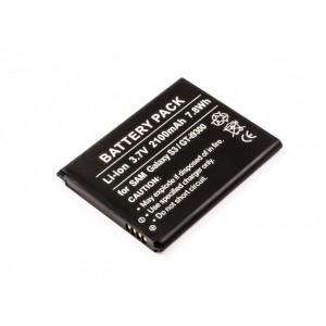 Bateria para Samsung Galaxy S3,I9300, EB-L1G6LLK, EB-L1G6LLU, 2100mAh