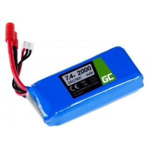 Bateria Drone Syma X8C X8G X8HC X8HG X8HW X8W compatível 7.4V 2000mAh