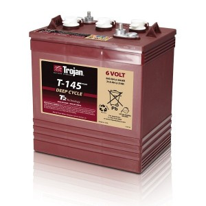 Bateria Trojan T-145+ 6V 260Ah Deep-Cycle