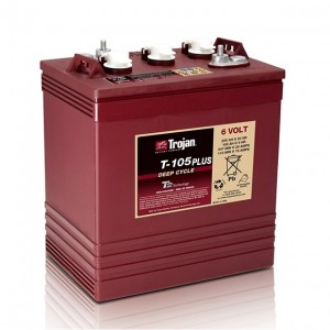 Bateria Trojan T-105+ 6V 225Ah Deep-Cycle