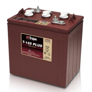 Bateria Trojan T-125+ 6V 240Ah Deep-Cycle