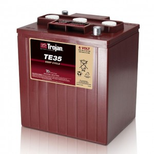Bateria Trojan TE35 6V 245Ah Deep-Cycle