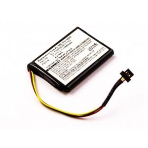 Bateria para TomTom Pro 4000, 3,7V 1100mAh 4,1Wh