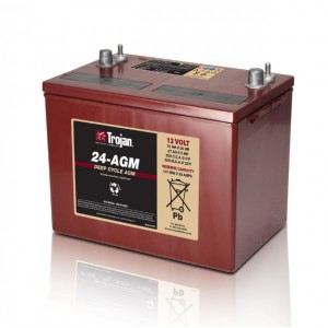 Bateria Trojan 24-AGM 12V 76Ah Deep-Cycle AGM