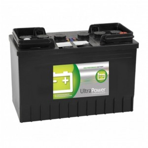Bateria automóvel 12V 110Ah 760A alta performance 348x175x239mm -/+