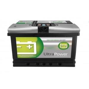 Bateria automóvel 12V 75Ah 640A +/- (#UltraPower 75.1)