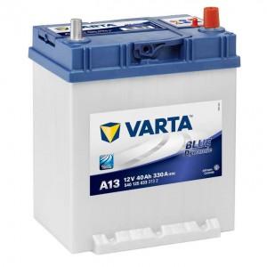 Bateria automóvel 12V 40Ah 330A VARTA Blue Dynamic A13