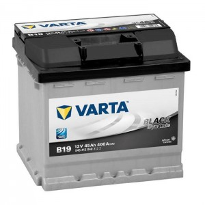 Bateria VARTA 12V 45Ah 400A Black Dynamic B19 207x175x190mm -/+