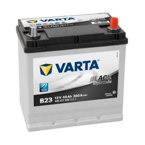 Bateria VARTA 12V 45Ah 300A Black Dynamic B23 219x135x220mm -/+