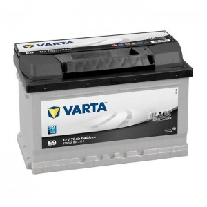 Bateria automóvel 12V 70Ah 640A VARTA Black Dynamic E9