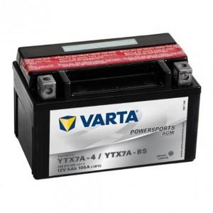 BATERIA VARTA YTX7A-BS, 506015005, 549629, 6E7A, 7A-BS, CYTX7A-BS, FTX7A-BS, GTX7A-BS, LTX7A-BS, YTX7A-4
