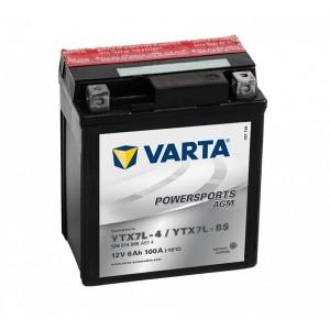 Bateria mota VARTA YTX7L-BS, 12V 6Ah