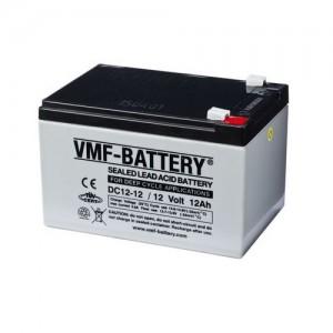 Bateria Deep-Cycle AGM 12V 12Ah (C20) VMF DC12-12