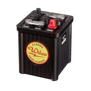 Bateria para clássicos 6V 56Ah 230A(EN) 250A(SAE)Wilco Hard Rubber