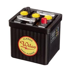 Bateria para clássicos 6V 66Ah 245A(EN) 265A(SAE)Wilco Hard Rubber