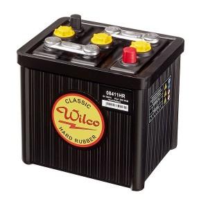Bateria para clássicos 6V 85Ah 355A(EN) 385A(SAE)Wilco Hard Rubber