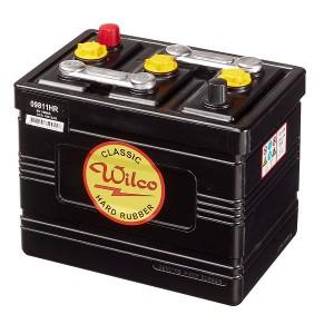 Bateria para clássicos 6V 105Ah 395A(EN) 425A(SAE)Wilco Hard Rubber
