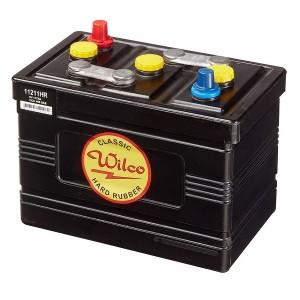 Bateria para clássicos 6V 117Ah 435A(EN) 465A(SAE)Wilco Hard Rubber
