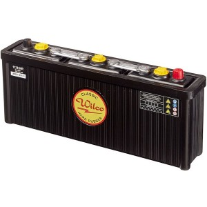 Bateria para clássicos 6V 112Ah 420A(EN) 450A(SAE)Wilco Hard Rubber