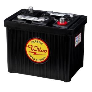 Bateria para clássicos 6V 120Ah 435A(EN) 465A(SAE)Wilco Hard Rubber