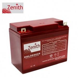 Bateria 6V 20Ah (term. F3) Zenith AGM standard