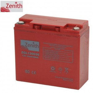 Bateria 12V 22Ah (term. T12) Zenith AGM standard