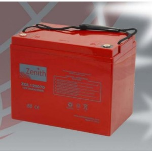 Bateria 12V 80Ah (term. M6) Zenith AGM chumbo