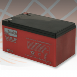 Bateria ZENITH DEEP-CYCLE ZL120110 12V 12Ah