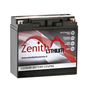 Bateria Lítio LiFePO4 12V 20Ah (Zenith ZLI012010)
