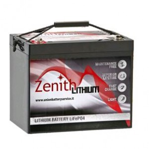 Bateria Lítio LiFePO4 12V 60Ah (Zenith ZLI012040)